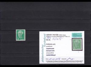DDR: MiNr. 322 a YI, postfrisch