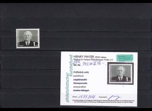DDR: MiNr. 342 bb III xII, postfrisch