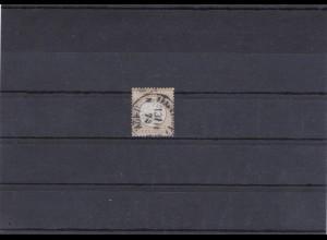 Deutsches Reich: MiNr. 28, gestempelt, BPP Fotoattest