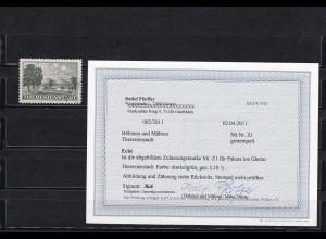 Böhmen & Mähren: Theresienstatt, BPP Befund