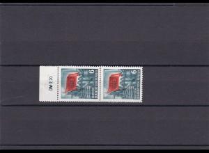 DDR: MiNr. 344 YII, postfrisch vom Oberrand, Paar