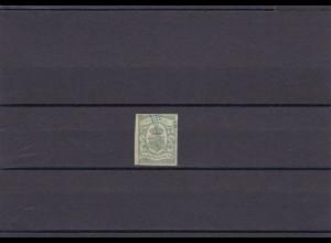 Oldenburg: MiNr. 10a, gestempelt, BPP Attest
