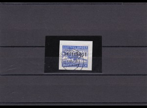 Feldpost: MiNr. 8A, gestempelt auf Briefstück, BPP Attest