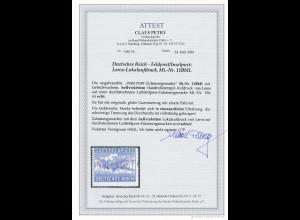 Feldpost/Inselpost: Leros, MiNr. 11BbII, *, BPP Attest