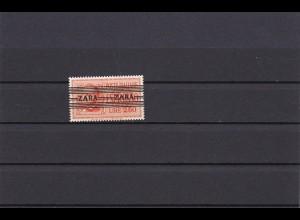 Zara: MiNr. 38 Type III, postfrisch: Nur 200 Stück Auflage