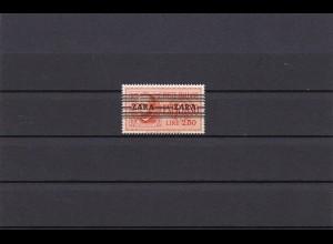 Zara: MiNr. 38 Type II, *: Nur 200 Stück Auflage