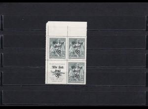 Sudetenland 1938- Rumburg: MiNr. 49 Zf s/w, postfrisch