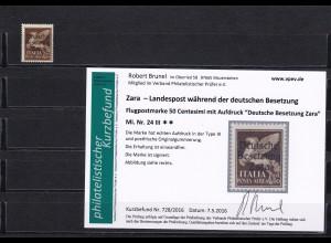 Zara - MiNr. 24 III, postfrisch