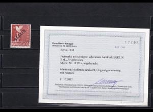 Berlin: Schwarzaufdruck: MiNr. 19 IVa, postfrisch