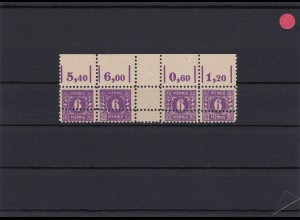 SBZ: MiNr. 9d (ZW), Doppelzähnung, postfrisch