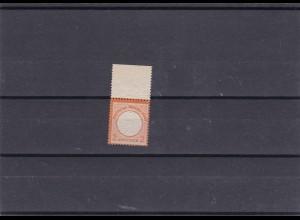 Deutsches Reich: MiNr. 15, postfrisch, Oberrand
