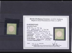 Deutsches Reich: MiNr. 23a PF VI, postfrisch, BPP Befund