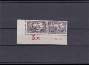 Deutsche Post Türkei: MiNr. 46 b, **, Eckrand, H-Nummer