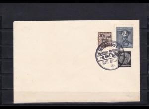 Sudetenland: MiNr. 12, 136, gestempelt, Reichenberg 1