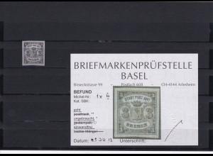 Bremen: Stadt Post Amt, Nr. 1x III, ungebraucht