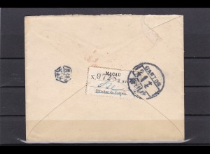 Macau: 1911: Letter to Canton