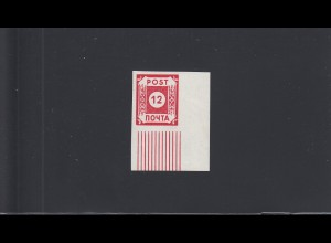 SBZ: MiNr. 41, Eckrandstück, postfrisch, BPP Attest