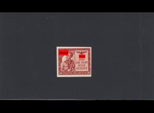 Deutsches Reich: MiNr. 863U, postfrisch, BPP Signatur Schlegel