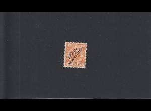 DSWA: MiNr. 9b, postfrisch, BPP Attest