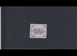 Feldpost: MiNr. 13 II a, Plattenfehler, gestempelt 18.4.1945, BPP Attest