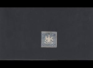Württemberg: MiNr. 15, gestempelt, BPP Signatur