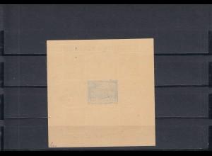 SBZ: MiNr. Block 3B, rücks. Abklatsch, Signatur BPP, postfrisch