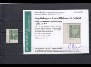 Frankreich- Britische Propagandafälschung MiNr. 40 und 42, postfrisch, Eckrand