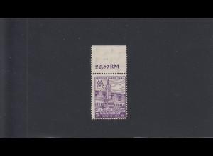 SBZ: MiNr. 164 AX, postfrisch vom Oberrand, Farbabart