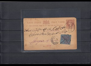 Indien 1889- Feudalstaaten: Kahuta to Gujarkhan Se, pencil signed Raybaudy