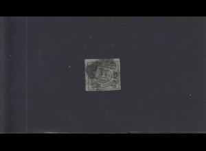 Braunschweig: MiNr. 10B, bogenförmig durchstochen, Stempel 11, BPP Attest