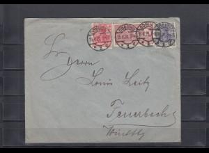 Deutsches Reich: MiNr. 86/87, Frachtstempelmarke, 1920 von Coburg. BPP Attest