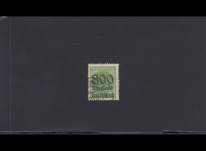 Deutsches Reich: MiNr. 307, Stempel Bad Homburg, BPP Attest
