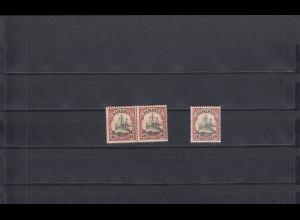 Kamerun MiNr. 13I und 13II, postfrisch