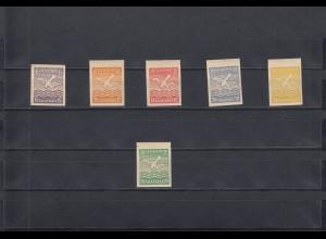Falkensee: MiNr. 2-6U und 5 FU, postfrisch