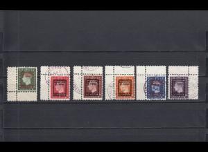 Kriegspropagandafälschungen: Michel Nr. 9-14, IVg, gestempelt, Bermuda