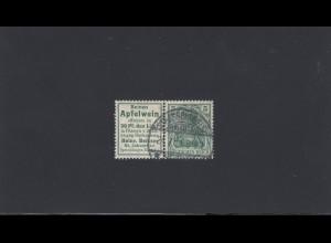 Deutsches Reich: MiNr. W2.1, gestempelt - Apfelwein