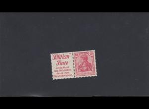 Deutsches Reich: MiNr. W3.27, *, Pelikan Tinte