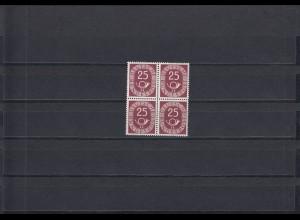 Bund: MiNr. 131, Vierblock, postfrisch