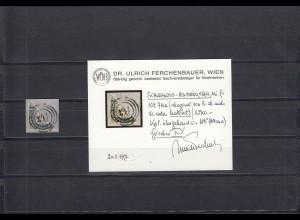 Schleswig-Holstein: MiNr. 7H, Briefstück
