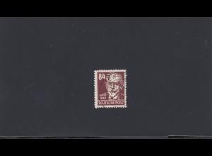 DDR: 1953: MiNr. 341 v XI, gestempelt, BPP Attest