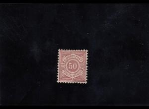 Württemberg, MiNr. 58, *