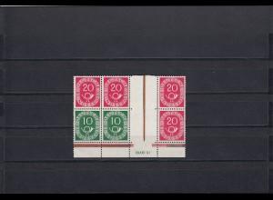 Bund: MiNr. W21, postfrisch, HAN
