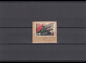 Litauen MiNr. 18, gestempelt Vilnius, Briefstück, Krischke