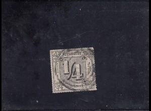 Thurn&Taxis, MiNr. 45, Nr. Stempel 234 (Jena), BPP Attest