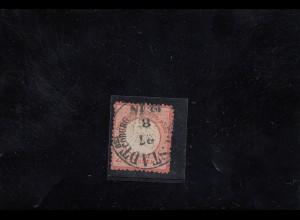 DR: MiNr. 8, gestempelt Briefstück, Thurn&Taxis Neustadt/Coburg, BPP Befund