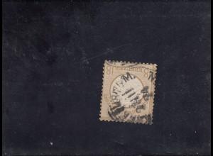 DR: MiNr. 28, gestempelt Frankfurt, 1874, BPP Attest
