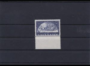 Österreich: MiNr. 555A, postfrisch vom Unterrand, Wipa Marke