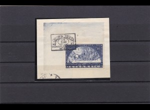 Österreich: MiNr. 555A, Wipa Marke im Eckrand auf Briefstück gestempelt