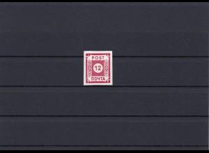 SBZ: MiNr. 41 II, Ostsachsen, postfrisch, BPP Attest