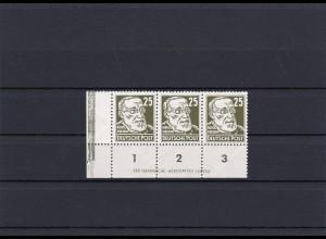 DDR: MiNr. 334 va XII DZ 1, Eckrand 3er Streifen, Postfrisch **